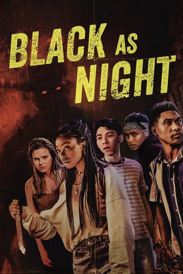 Black as Night (2021) [Hollywood Movie]